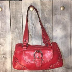 Pelle Studio Red Leather Bag